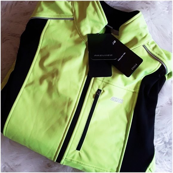 Other - Mens Cycling Night Reflective Jacket